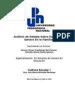EQUIDAD DE GÉNERO EN MEXICO