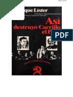 Lister - Asi Destruyo Carrillo El PC