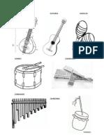 Bandola Guitarra Maracas