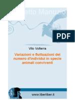 Variazioni e fluttuazioni del numero d'individui in specie animali conviventi