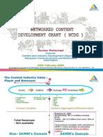 Network Content Development Grant Funding