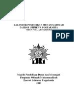 Kalender Pendidikan Muhammadiyah 2013-20141