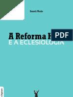 Livro eBook a Reforma Hoje e a Eclesiologia