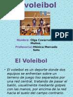 Trabajo de Educ. Fisica Voleibol