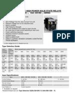 DC-AC AC-AC Single Phase High Power SSR