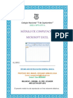 MÓDULO DE MICROSFT OFFICE EXCEL 2010