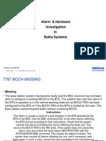 Alarm & Hardware Investigation