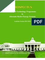 AHES Prospectus 2013-14