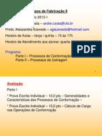 Aulas_Conformação_Plástica_2013_1