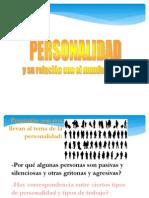 personalidad  laboral