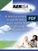 iPureAir 4 Page Brochure