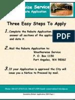 Insulation Rebate App