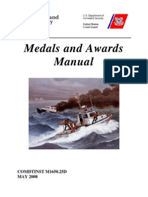 USCG Medals and Awards Manual | United States Coast Guard