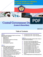 Indonesia's Central Government Debt Profile April 2013 (English)