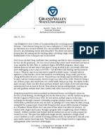 letter of recommendation merritt taylor