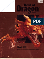 Best of Dragon Magazine - Vol III