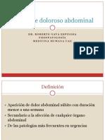 7. Síndrome doloroso abdominal