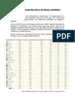 A Diversidade Religiosa No Brasil Moderno
