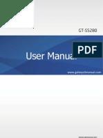 Samsung Galaxy Star User Manual GT-S5280, Jellybean, English