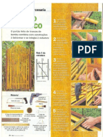 Portão com Bambu