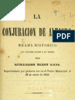 La Conjuracion de Don Diego de Almagro