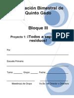 5to Grado - Bloque 3 - Proyecto 1