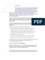 HW1 Deficit Reduction Act of 2005
