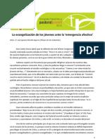 Munilla 3nov2012 La+evangelización+de+los+jóvenes+ante+la+'emergencia+afectiva'