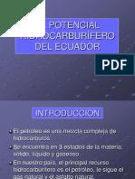 Capitulo 21. El Potencial Hidrocarbur+Fero Del Ecuador