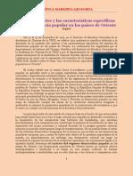 Sobre el carácter y las características específicas de la democracia popular en los países de Oriente (1952)
