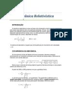 Cap13_Mecanica Relativistica