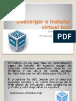 Descargar e Instalar Virtual Box