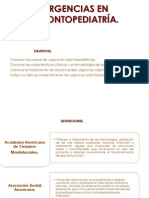 1. Urgencia en Odontopediatria