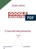 Apresentação Google Marketing
