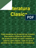 Literatura Clasica Pe Scurt