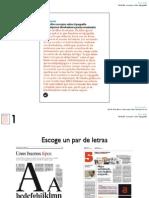 22 consejos sobre tipografía