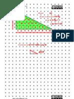 Geoplano VI - Área y perímetro de un triángulo rectángulo
