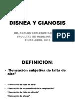 Disnea y Cianosis