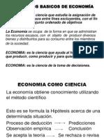 CLASE 1-CONCEPTOS BASICOS DE ECONOMÍA