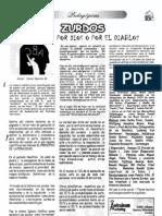 artículo zurdos