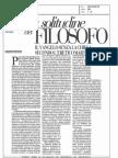 Cacciari - La Solitudine Del Filosofo - Vangelo Senza Chiesa Piero Martinettii