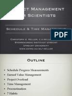 PMSci2011_L10_ScheduleTimeManagement