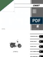 Honda Wave 100 NF100 Parts Catalogue | Carburetor | Clutch