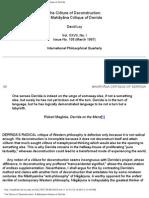 The Clôture of Deconstruction- A Mahāyāna Critique of Derrida