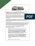 Dan Winter Theory Fundamentals