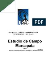 Estudio de Campo - Marcapata