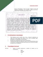 Marxismo, funcionalismo y teoría de juegos (1)