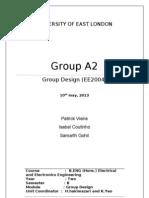 "Group Lab Report - ""Racing Car"""
