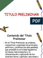 TITULO PRELIMINAR