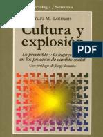 109201784 36995899 Cultura y Explosion Yuri M Lotman